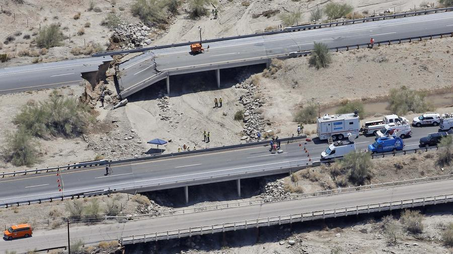 Trucking Industry On Losing End Of I-10 Bridge Shutdown