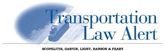 Scopelitis Transportation Law Alert – Trucking Industry Scores Big Win In Oregon