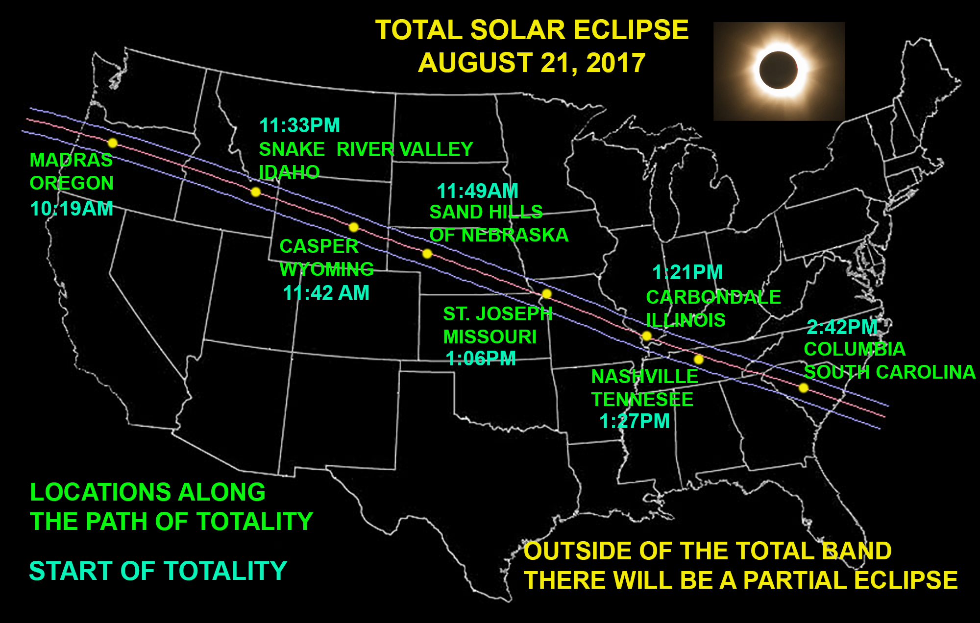 Transportation & Trucking Alerts: Total Solar Eclipse 2017