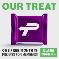 One free Month of Prepass for Membes!