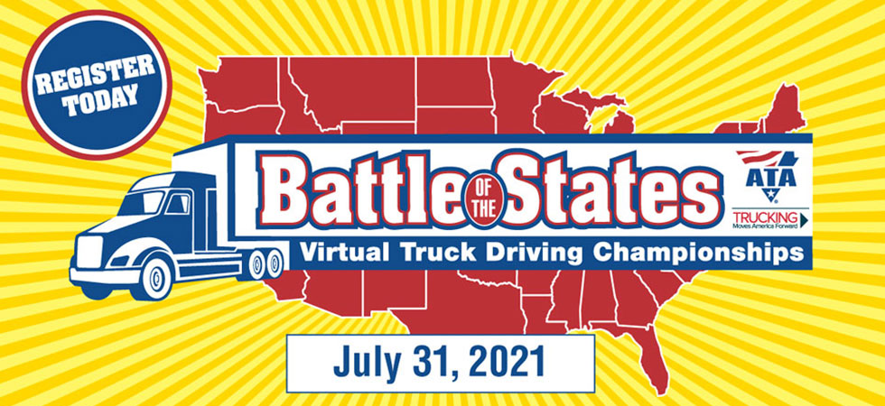Arizona Trucking Association Announces The 2021 Virtual Truck Driving Championship / Battle Of The State Winners